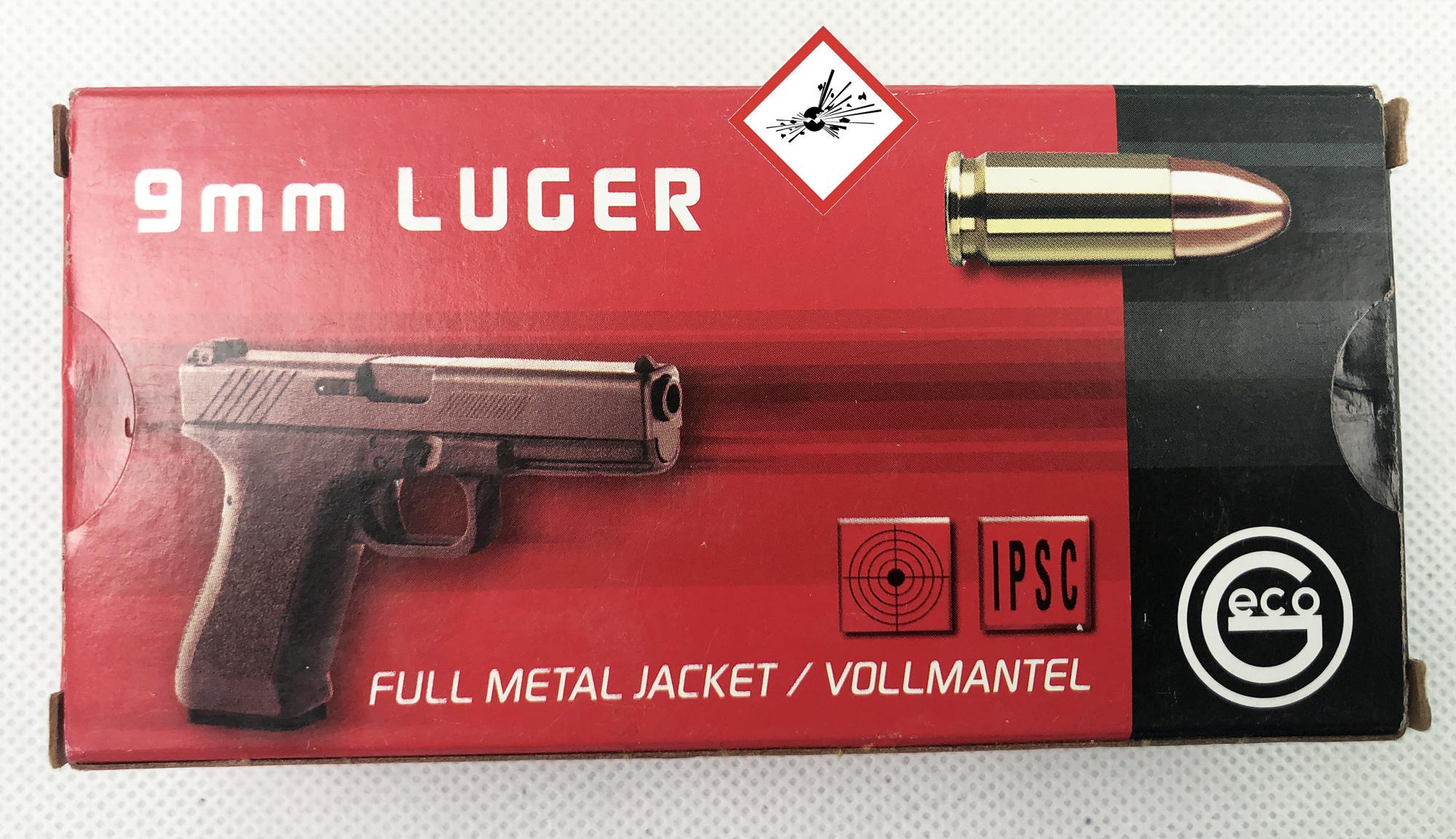 Geco 9mm Luger VM 8,0G SP Deutsche Fertigung