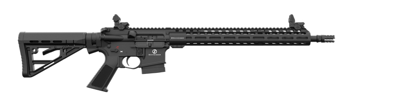 Schmeisser AR15 M5FL Paket mit Falke S u. Tact. Rifle Case 38 - Kal .223