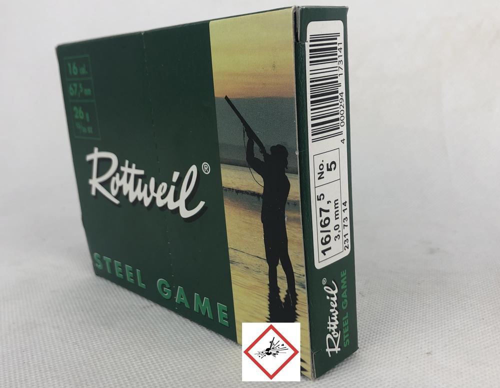 RW STEEL GAME 16/67,5 26G 3,00MM 10ER