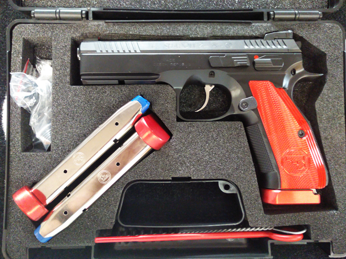CZ75 SP-01 Shadow II Red-Line 9mmLuger
