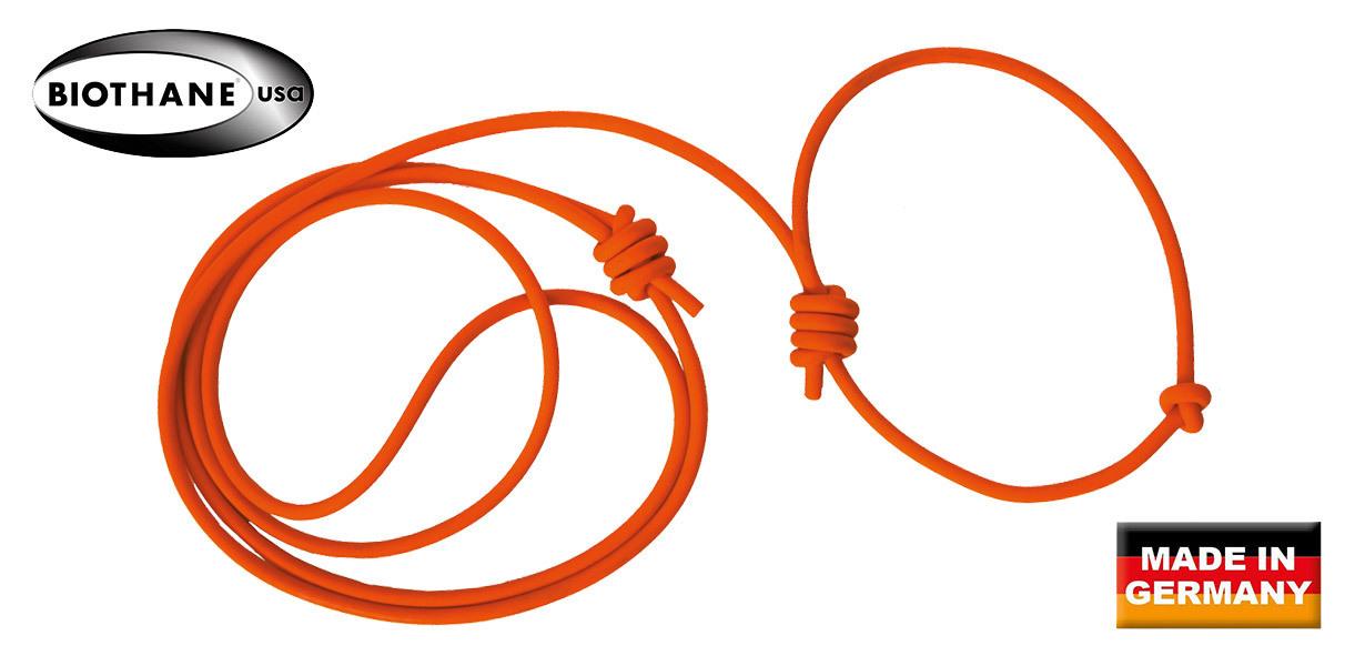 AKAH BioThane® Umhängeleine mit Halsung rund