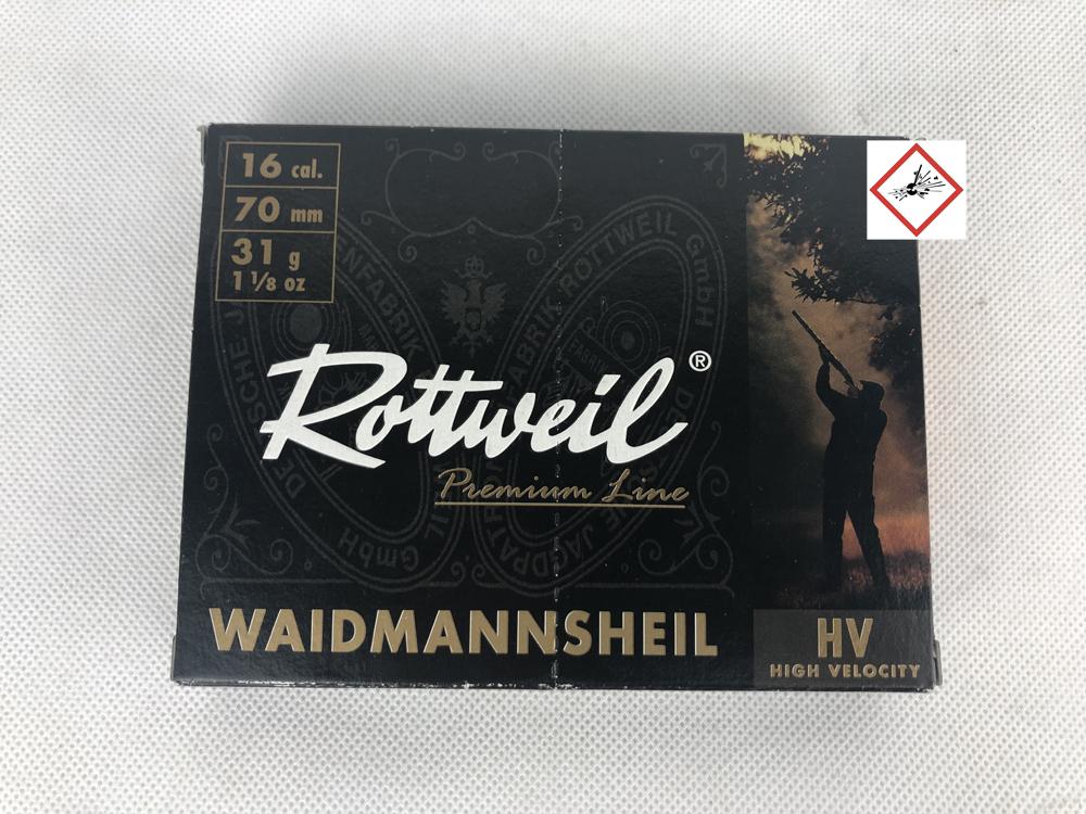 RW WMH TPL HV 16/70 31G 3,5MM 10ER