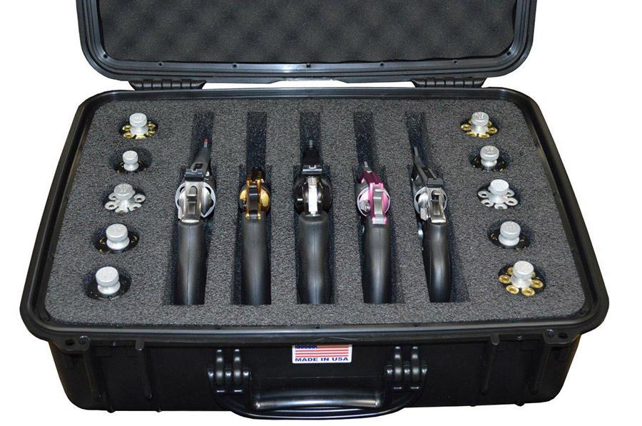 Pistolenkoffer QF560 - 5 Waffen