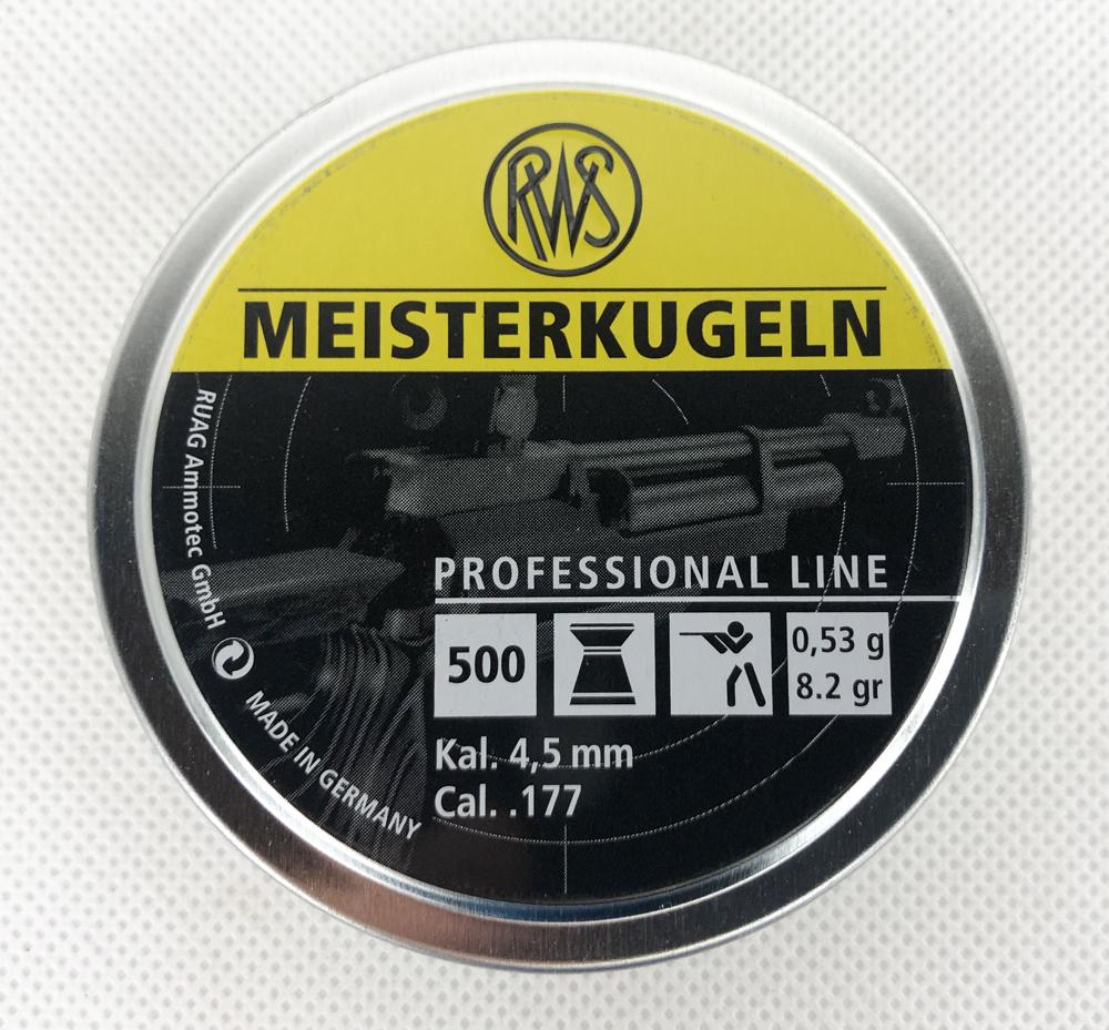 MEISTER 4,5MM Ø4,50 0,53G 500ER