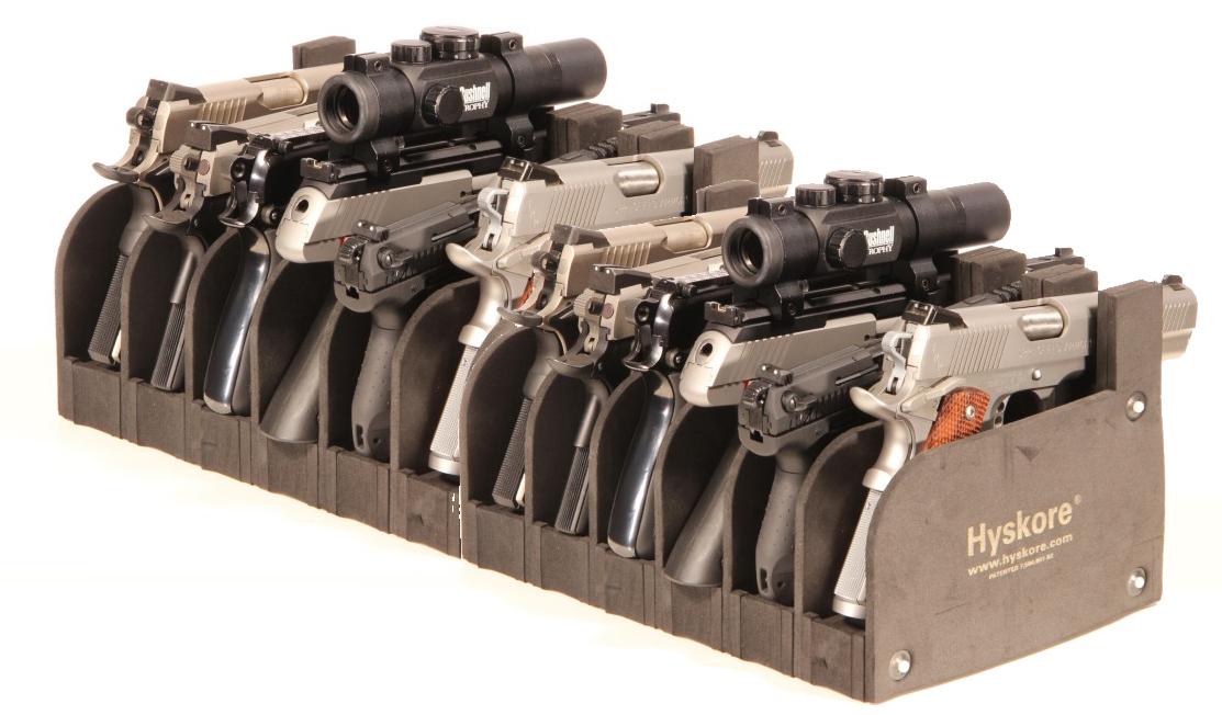 Waffenständer 12 Kurzwaffen