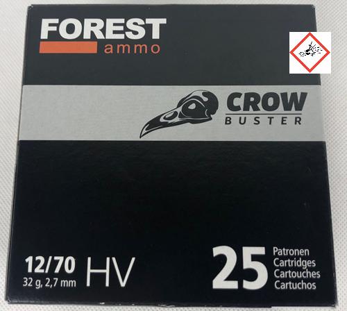 Crowbuster 12/70 32g HV 2,7mm 25 Stück