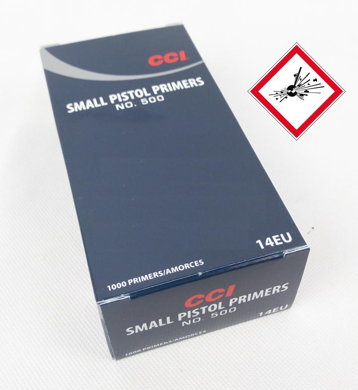 CCI 500 Small Pistol