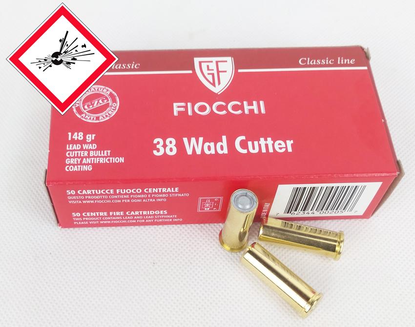 .38 Special LWC / 9,59 g / 148 grs VE 1.000 / PE 50