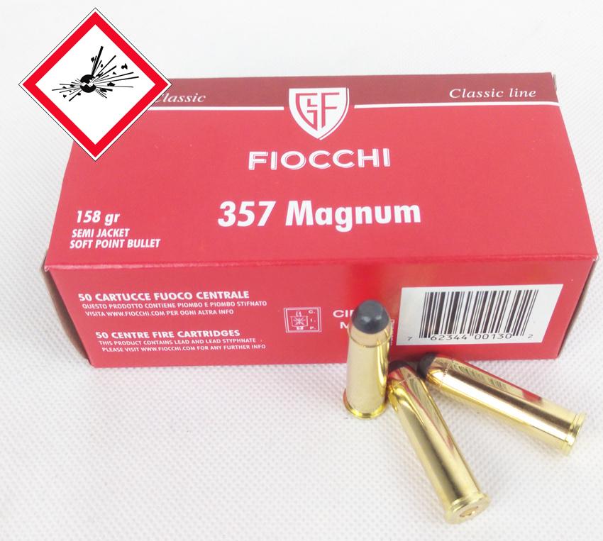 .357 Magnum TM SJSP / 10,24 g / 158 grs VE 1.000 / PE 50
