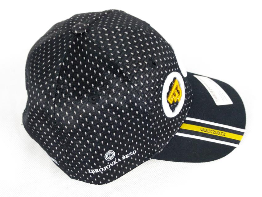 Baseball cap with 1+5 logos