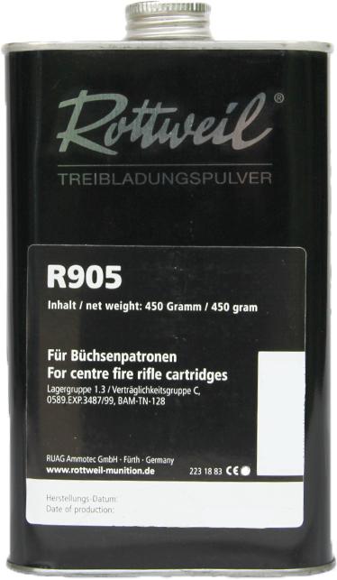 RW PULVER R905 Dose 450g