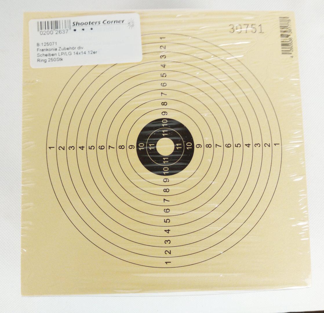 Scheiben LP/LG 14x14 12er Ring 250Stk