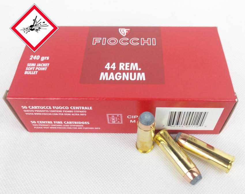 .44 Magnum TM SJSP / 15,55 g / 240 grs VE 1.000 / PE 50