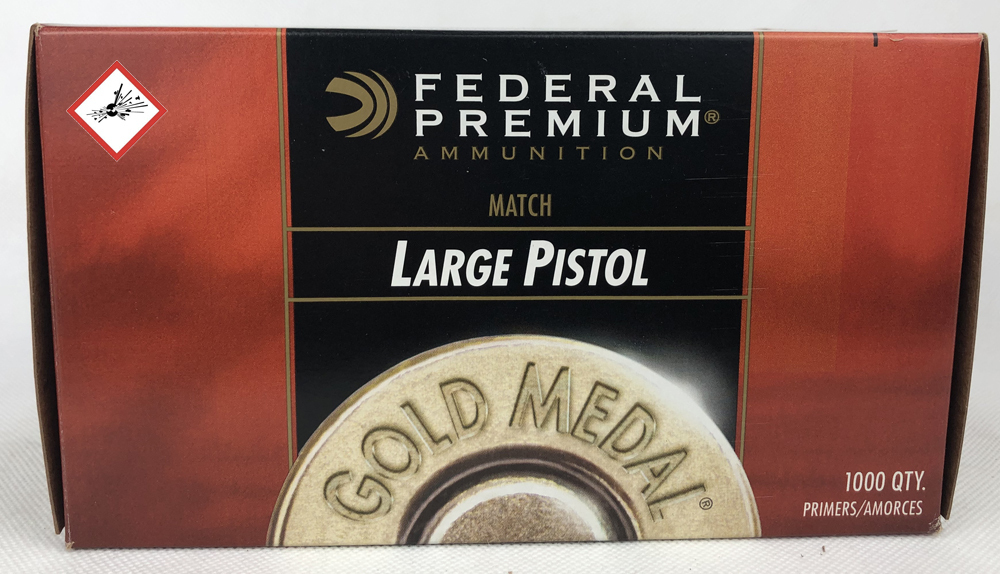 #150M LARGE PISTOL 1000 Stk Gold Metal