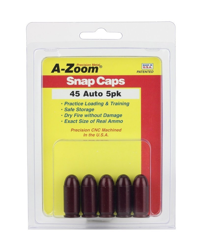 A-Zoom Snap Caps 45 Colt