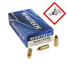 9mm Luger FMJ 124grs. 50Stk