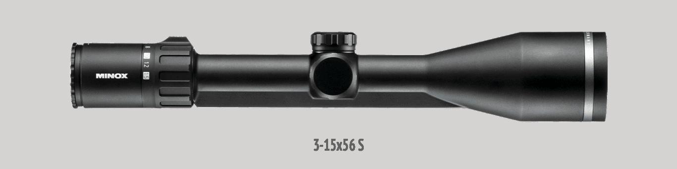 Minox Allrounder 3-15x56 mit Schiene