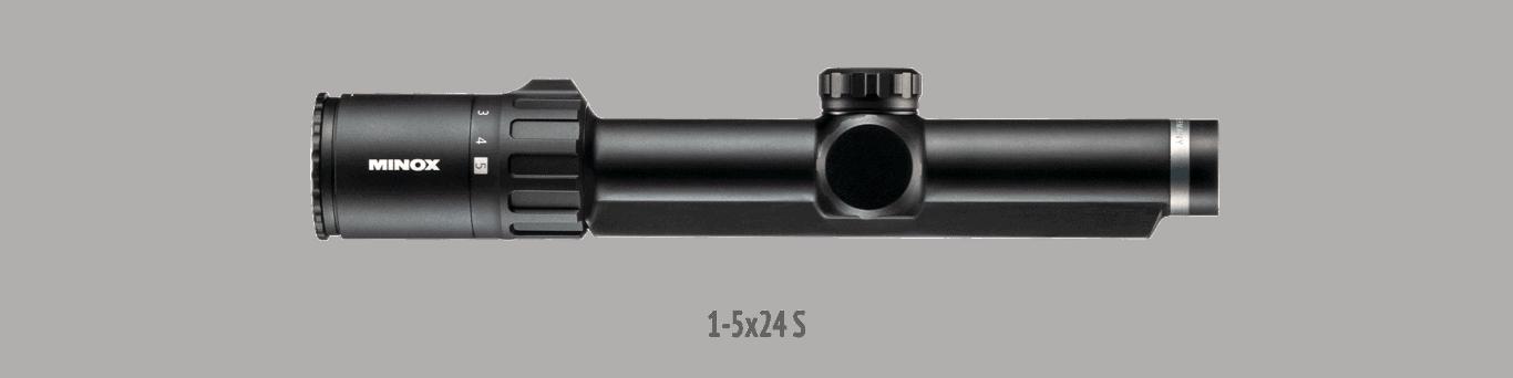 Minox Allrounder 1-5x24 mit Schiene