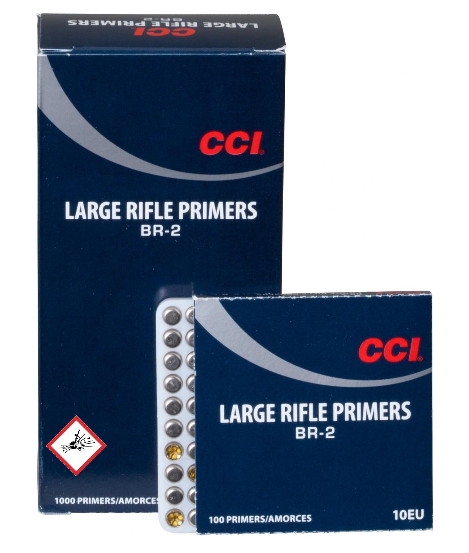 CCI Zündhütchen #BR2 LR 1000 Stück