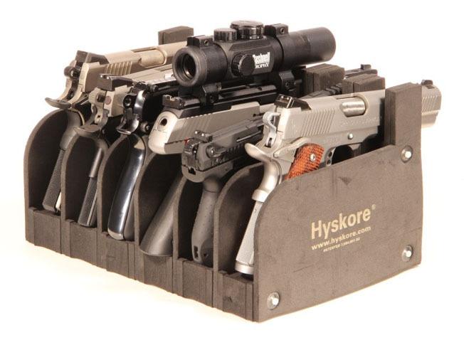 Waffenständer 6 Kurzwaffen
