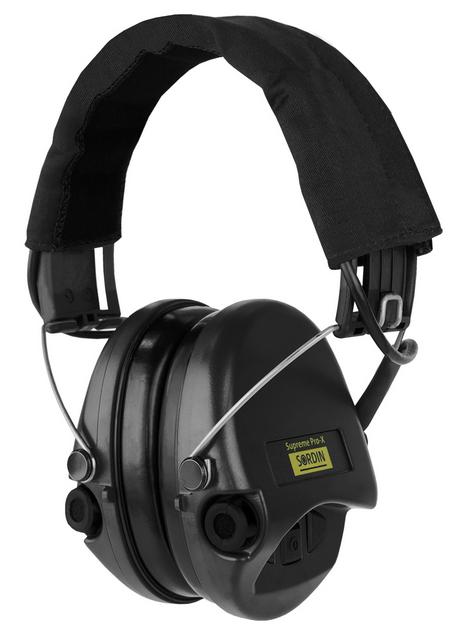 MSA  -  Gehörschutz Sordin Supreme Pro X black