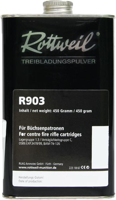 RW PULVER R903 Dose 450g