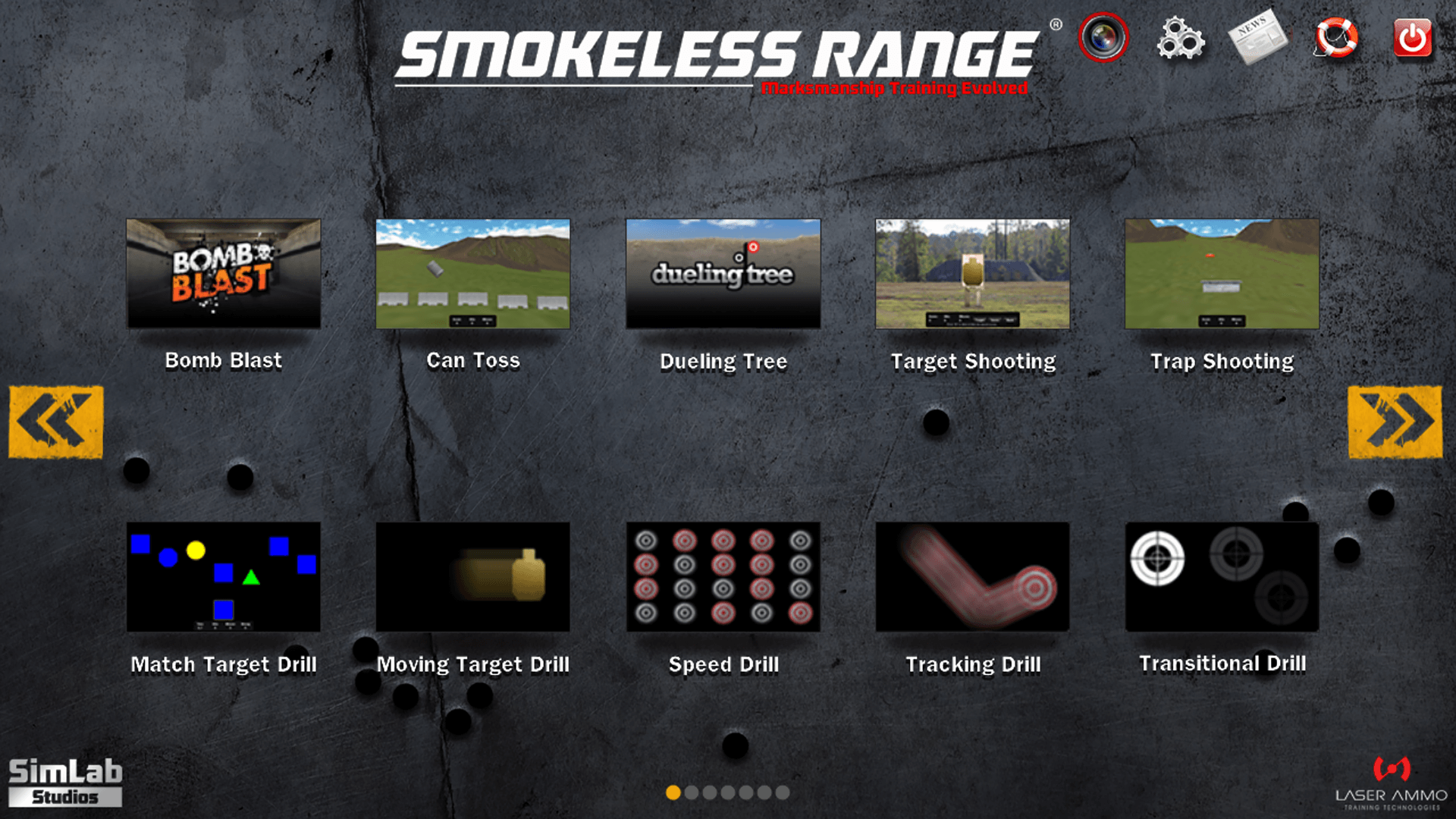 Smokeless Range - Home Simul. Software
