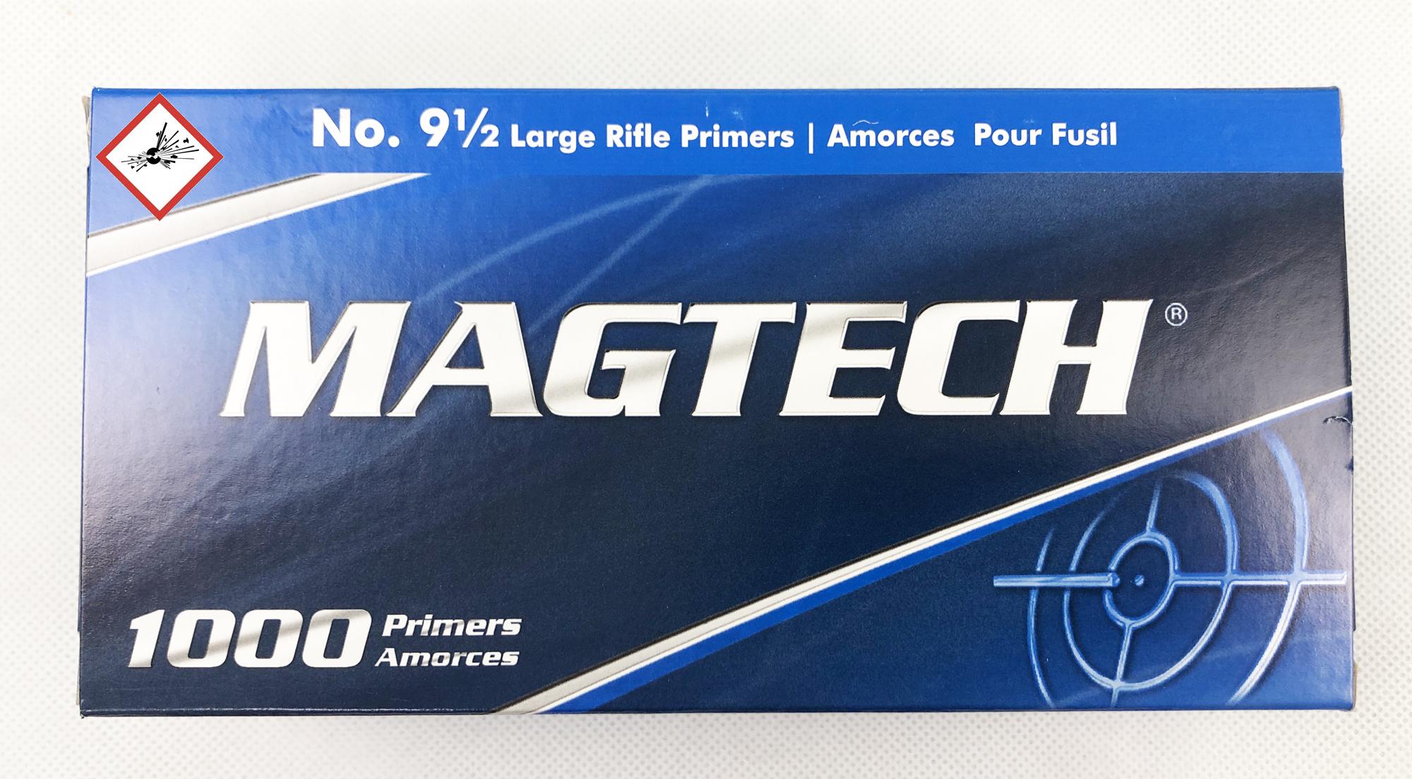 Magtech Zündhütchen No 9  1/2 Large Rifle