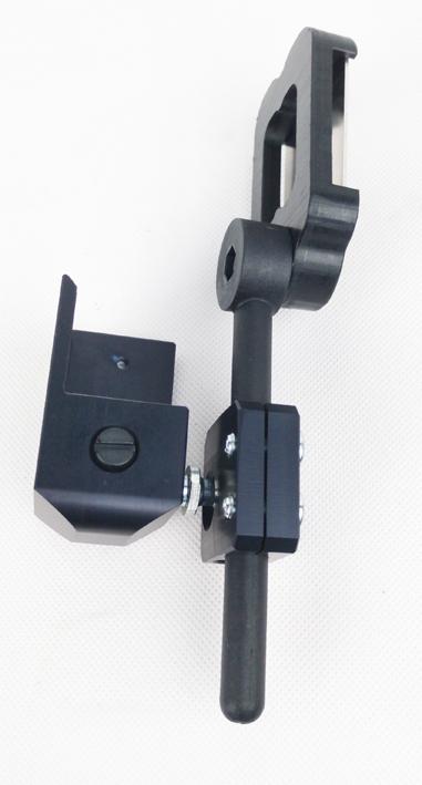 Speedsec 7 Basehousing Alu 3D schwarz eloxiert