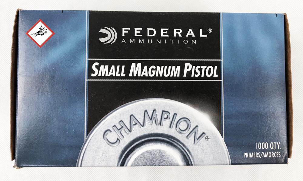 Federal 200 SMALL PISTOL MAG 1000 Stk