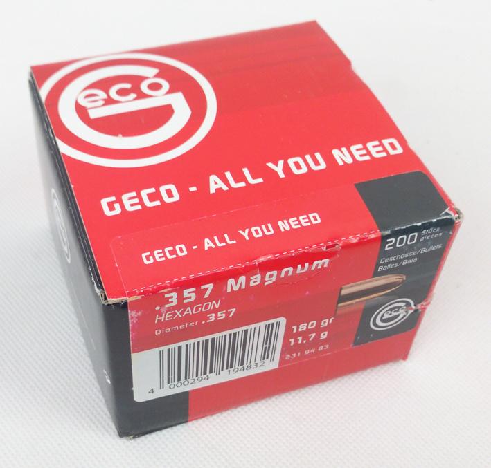 GESCH .357 MAG 11,7G/180GR HEXAGON 200ER