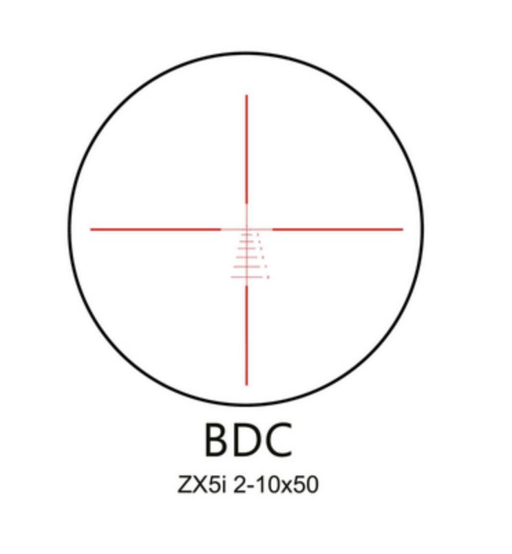 ZX5 2-10x50 BDC