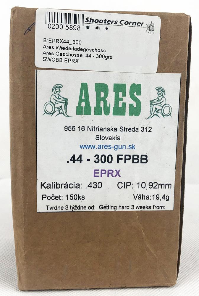 Ares Geschosse .44 - 300grs SWCBB EPRX