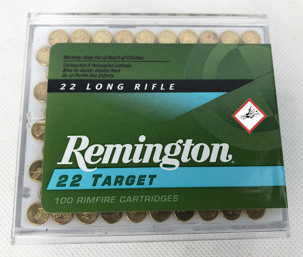 REM 21284 6100 .22 LONG RIFLE TARGET 40GR RN 100/5000 *SP*