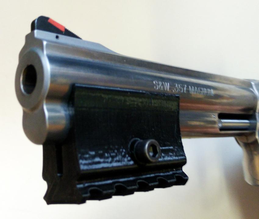 BARRERAIL - Laufadapter S&W / Ruger Revolver