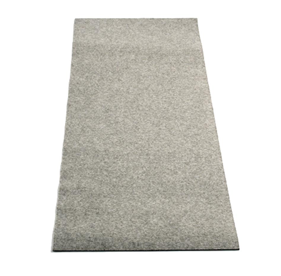 Reinigungsmatte grau, ca. 1.000 x 300mm, Filz