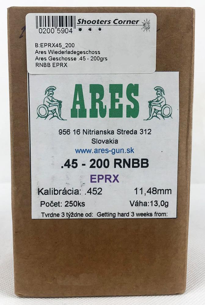 Ares Geschosse .45 - 200grs RNBB EPRX