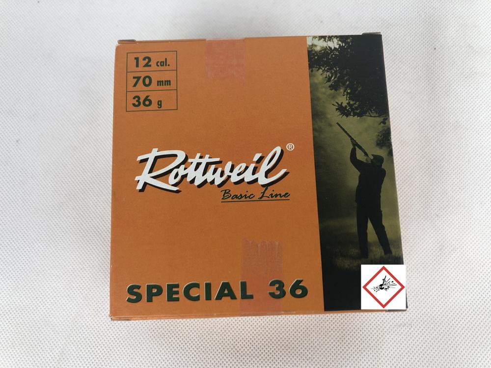 RW SPEC 12/70 36G 3,0MM 25ER