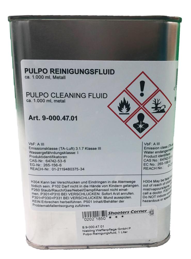 Pulpo-Reinigungsfluid, 1 Liter