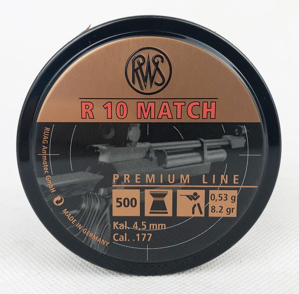 R10 MATCH Ø4,50MM 0,53G 500ER