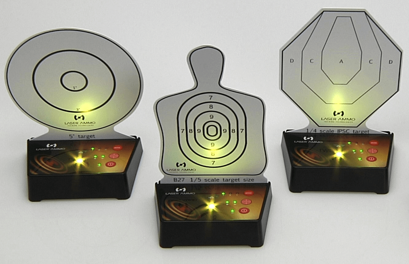 Laser Ammo Interactive Multi Target Training System (3 Targets)