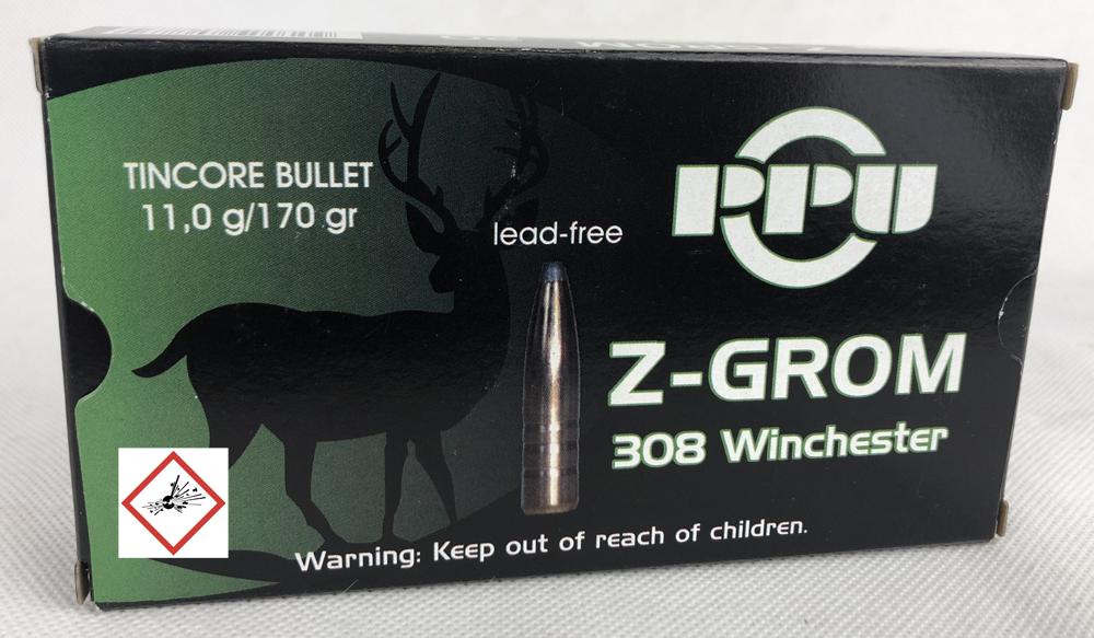 .308 Win Z-GROM 170grs