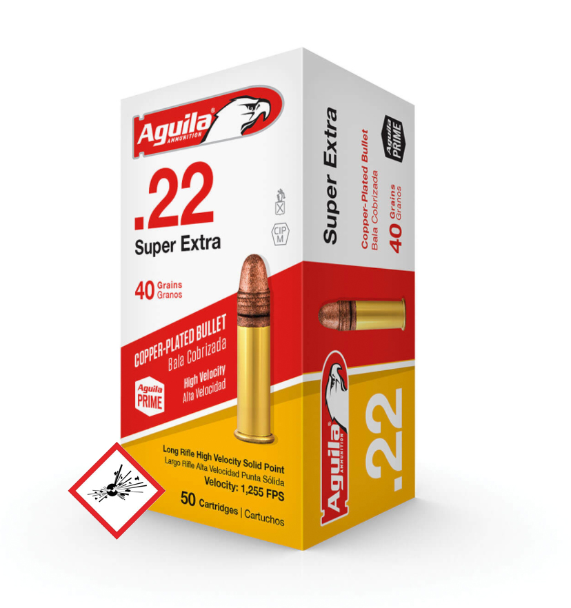 Super Extra .22lr 40grs LNR Pack 50stk